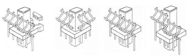 postes-metalicos-rectangulares-valla-fortex-abrazadera-tipos-union
